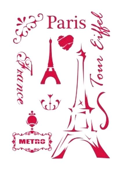 Paris wieża Eiffla