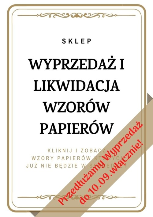 Likwidacja Wzorów Papierów