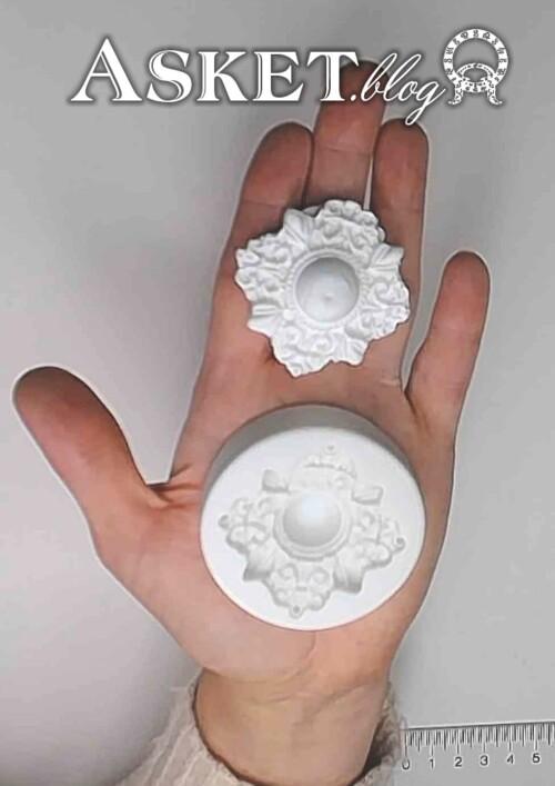 Forma silikonowa klejnot bombka