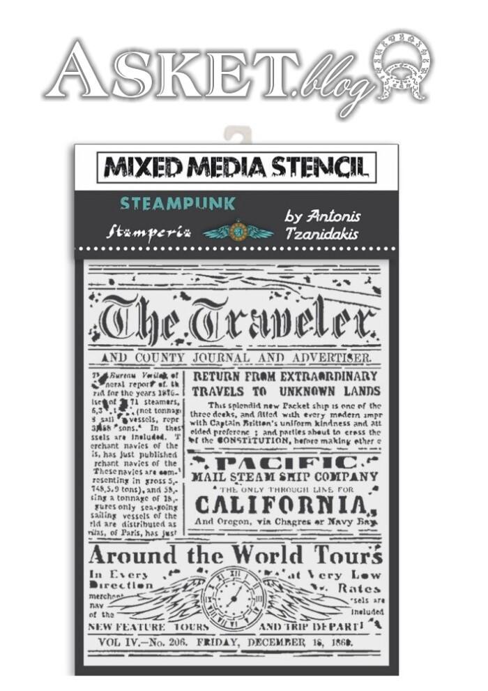 szablon stara gazeta