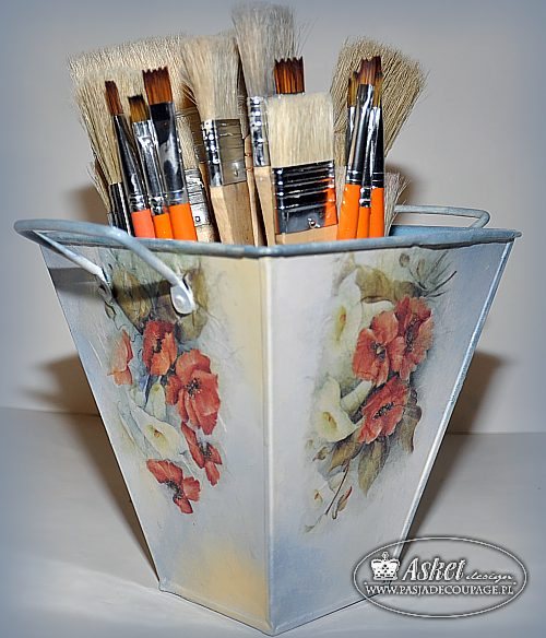 decoupage na metalu